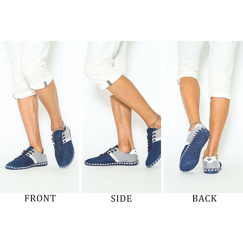 スニーカー メンズ メッシュ カジュアル 靴 おしゃれ 夏 20代 30代 40代 50代|menz-style|03