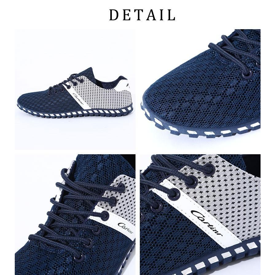 スニーカー メンズ メッシュ カジュアル 靴 おしゃれ 夏 20代 30代 40代 50代|menz-style|04