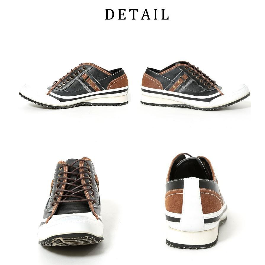 スニーカー メンズ 靴 シューズ カジュアル ローカット おしゃれ 30代 40代 50代 デニム スウェット|menz-style|14