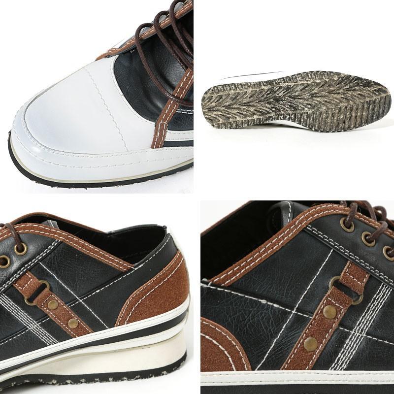 スニーカー メンズ 靴 シューズ カジュアル ローカット おしゃれ 30代 40代 50代 デニム スウェット|menz-style|15