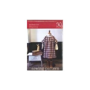 パターン型紙(子供スモックワンピース)|merci-fabric|03