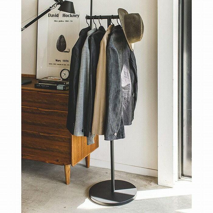 ポールハンガー スマート ホワイト ブラック 4080 4081 スリムタイプ ハンガー スチール製 衣類収納 おしゃれ 山崎実業 白 黒 インテリア モダン (送料無料)|merci-p|06