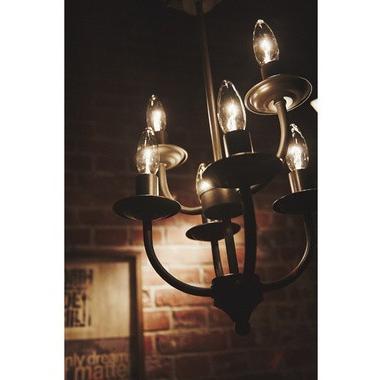アーツライト 6バルブ アンティークブラウン アンティークゴールド RTS LIGHT 6BULB 6灯 おしゃれ シンプル ライト 天井照明 アンティーク