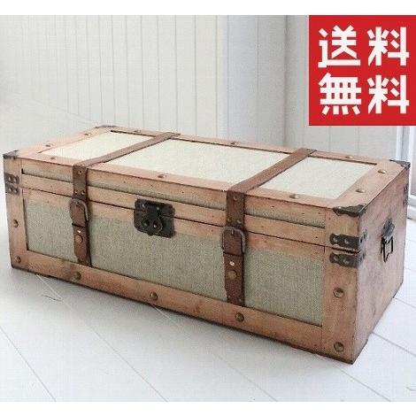 サンジュートチェスト アンティーク風(COVENT サンジュートチェスト アンティーク風(COVENT GARDEN コベントガーデン)(送料無料) FZ-02