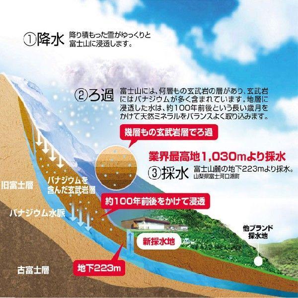 プレミアム ミネラルウォーター 日本一富士山の天然水(500ml6本お試しセット)|mercurop-ss|06