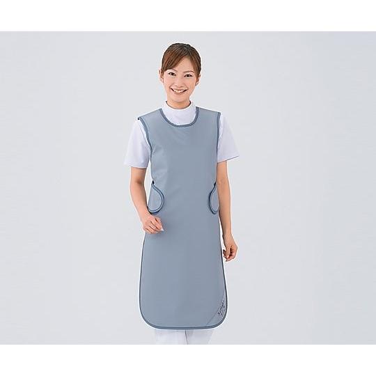 X線防護衣(ソフライト) L ブルー SSA-25L 1枚【返品不可】