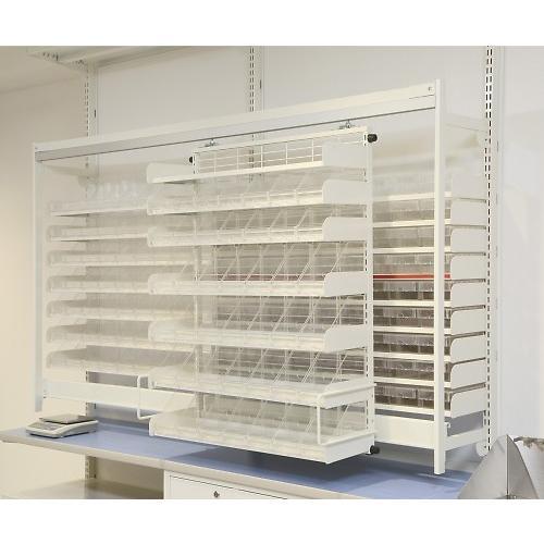 【部品】MD調剤台(スライド棚) 1798x1121 1個 【大型商品】【後払不可】【同梱不可】【返品不可】