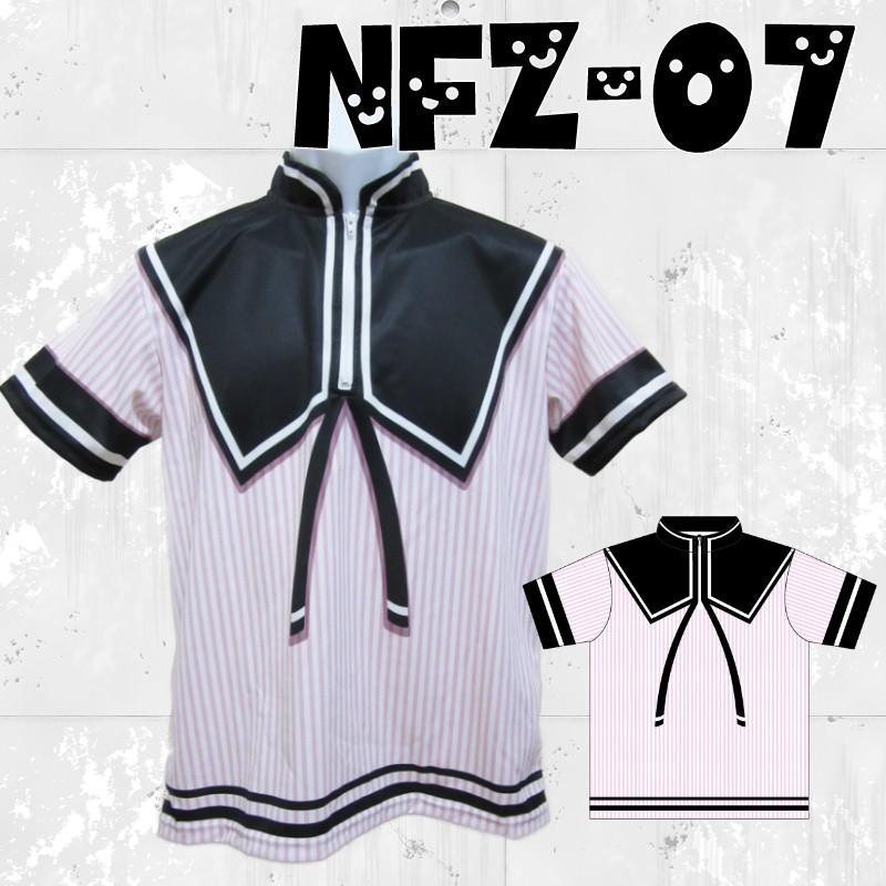 ボウリングウエア ジップシャツ 名入れ セーラー服 制服 NFZ-07 ストネコ