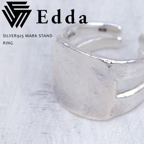 ファッションなデザイン Edda エッダ シルバー925 マークスタンド リング 指輪 メンズ レディース 送料無料, JI-RO インポートジュエリー 5c11c852