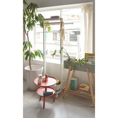 Sylph Hanger rack ハンガーワゴン 収納カゴ付き 2color ハンガーラック|mertico|12