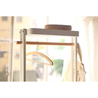 Sylph Hanger rack ハンガーワゴン 収納カゴ付き 2color ハンガーラック|mertico|14