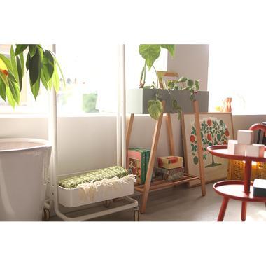 Sylph Hanger rack ハンガーワゴン 収納カゴ付き 2color ハンガーラック|mertico|15
