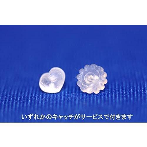 ヒリーズHRYS 日本製 18金 ポストスター シンプル ピアス 3212 (シルバー) (シルバー)|mesotes|07