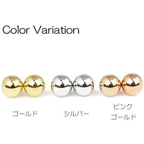 ヒリーズHRYS  18金 ポスト ピアス 4mm 丸玉 日本製 3021 (ゴールド) (ゴールド)|mesotes|04