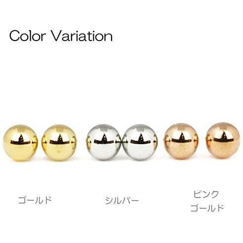 ヒリーズHRYS  18金 ポスト ピアス 3mm 丸玉 日本製 3020 (ピンクゴールド) (ピンクゴールド)|mesotes|04