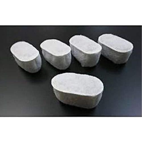 デロンギ コーヒーメーカー用活性炭フィルター(5個入) CM-ACF (ホワイト) mesotes