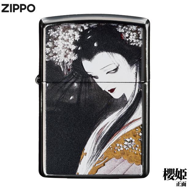 天野喜孝ZIPPOライター[櫻姫] /正規品/グッズ/金属雑貨/ジッポーライター|metaledit|03