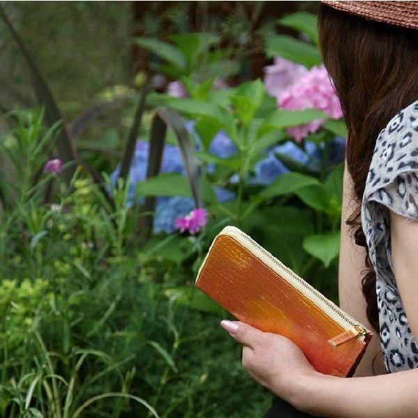 幸せのたまる太陽の財布 サンライズゴールド|meteor-color2|04