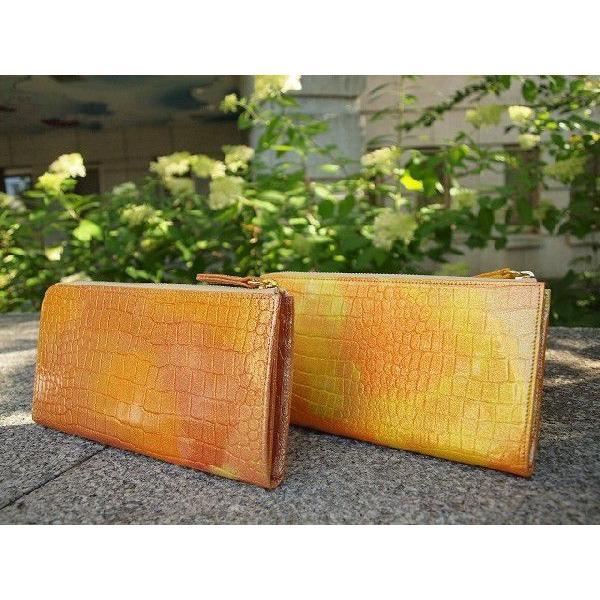 幸せのたまる太陽の財布 サンセットゴールド meteor-color2 02