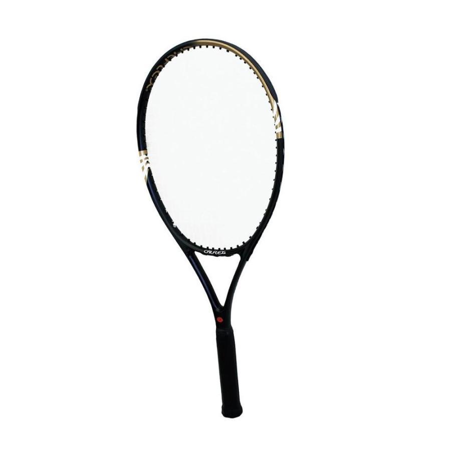 CALFLEX カルフレックス 硬式 一般用 テニスラケット 専用ケース付 ブラック CX-530〔代引き不可〕 トレード