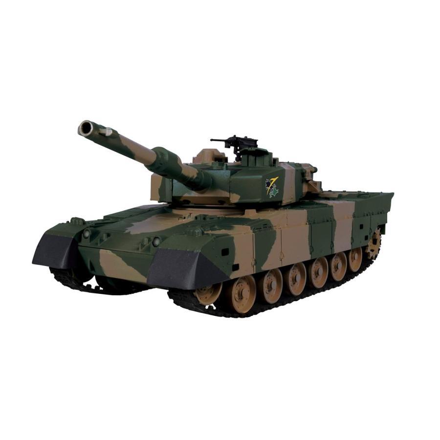 ジョーゼン ダートマックス 1/28スケール ラジコン 陸上自衛隊 90式戦車 JRVK058-GR|mgshop0401