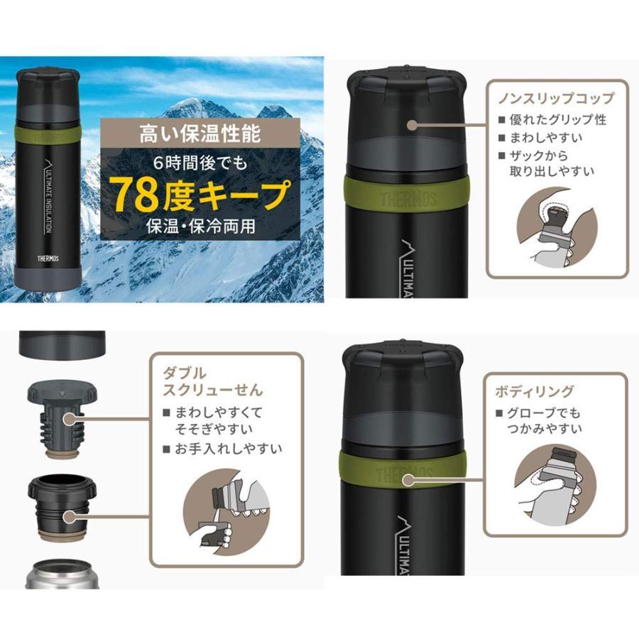 サーモス ステンレスボトル FFX-751 サンドベージュ 0811700212-SDBE|mgshop0401|02
