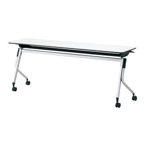 会議 テーブル リネロ2 LD-620 LD-620 WS W 1800 D 600mm ホワイト キャスター 高さ調整 オフィス家具 送料無料 個人宅・商品代引・後払い・時間指定・離島不可