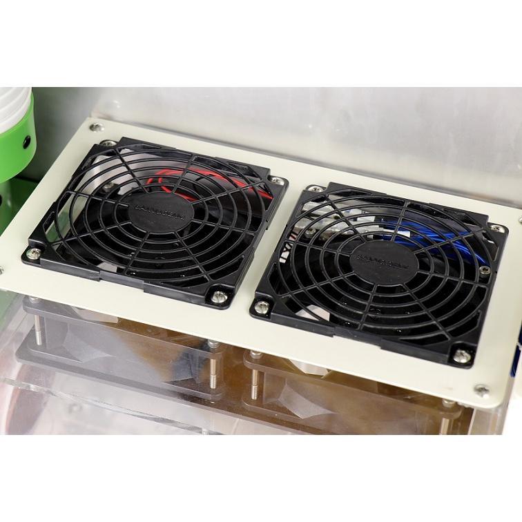 加湿器 大型噴霧器 300平米以上 毎時4リットル霧化 空間噴霧 空間除菌 広範囲を除菌加湿 次亜塩素酸水溶液対応 工事不要 ミストセイバー 日本製 キャスター付|mgshoten|06