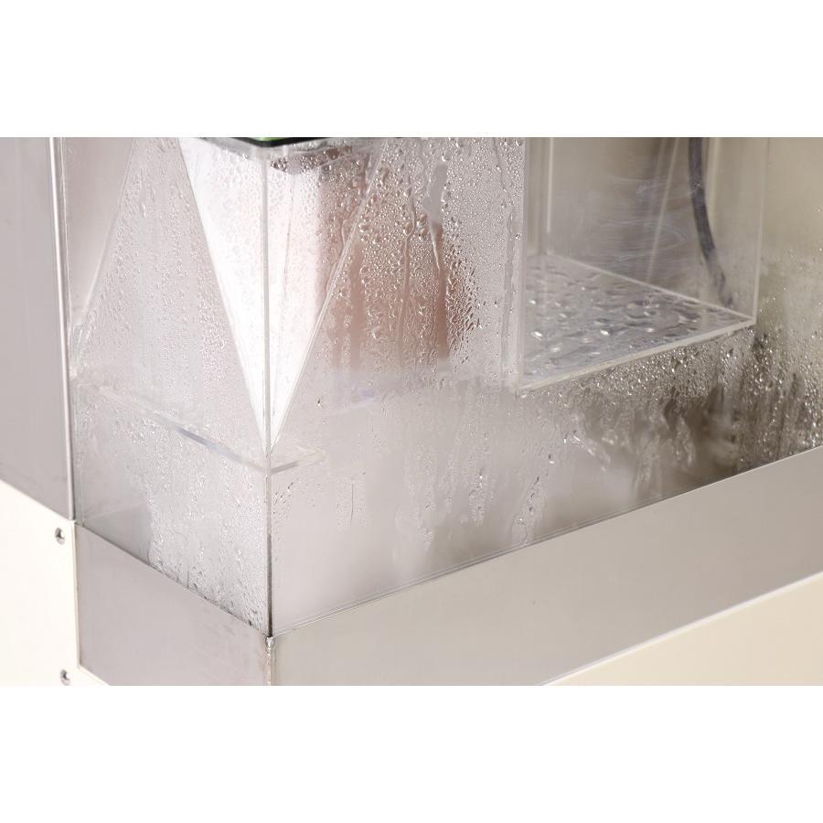 加湿器 大型噴霧器 300平米以上 毎時4リットル霧化 空間噴霧 空間除菌 広範囲を除菌加湿 次亜塩素酸水溶液対応 工事不要 ミストセイバー 日本製 キャスター付|mgshoten|10