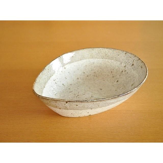 (月間セール)パスタ皿 カレー皿 おしゃれ 和食器 美濃焼  煮物鉢 サラダボウル 渕茶うのふ粉引変形多用鉢|mhomestyle|10