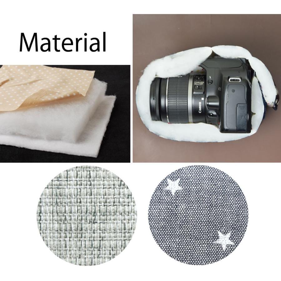 カメラケース camera case 一眼レフ用 「カメラのお洋服 スリム」 プロテジェ グレーミックス(撥水加工)|mi-na|06