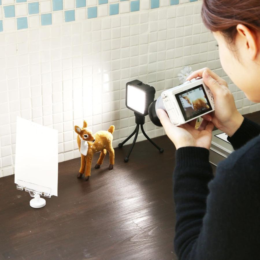 フォトスタイリングセット インスタ映えセット LEDライトが入ったテーブルフォト5点セット|mi-na|02