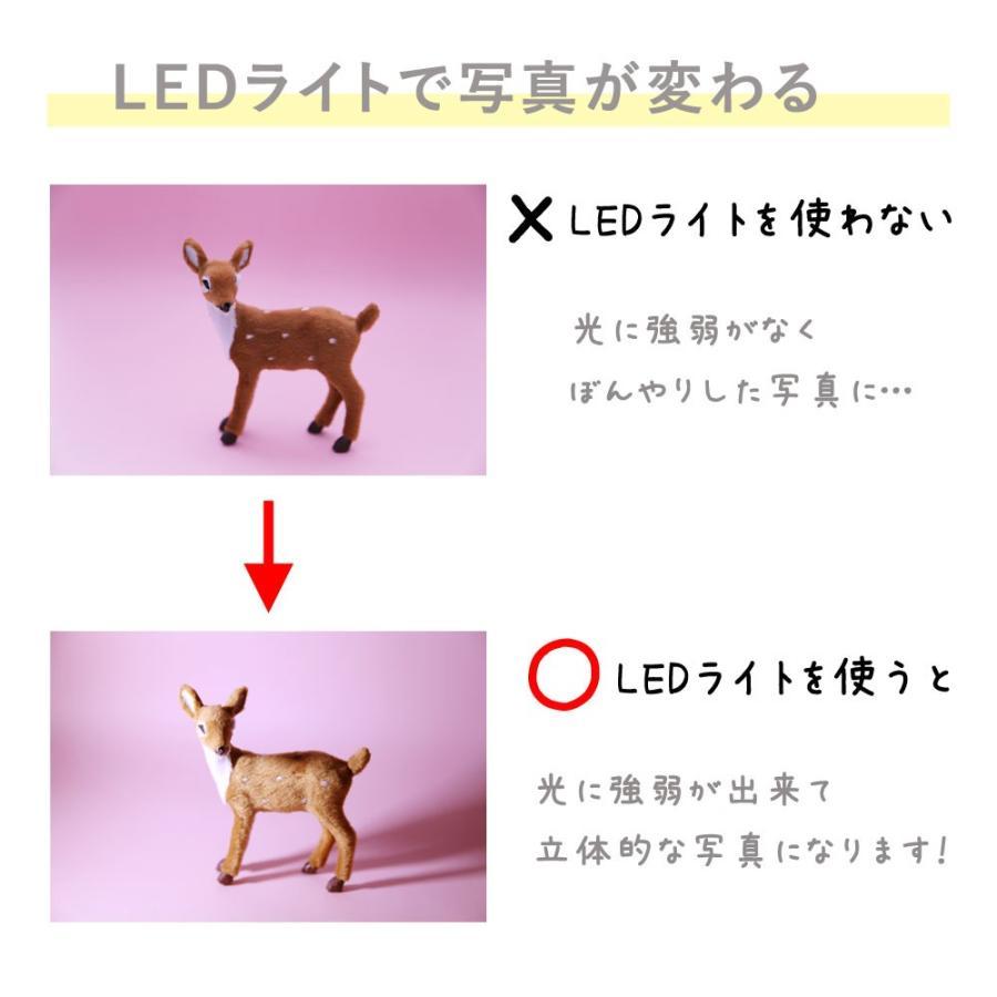 フォトスタイリングセット インスタ映えセット LEDライトが入ったテーブルフォト5点セット|mi-na|03