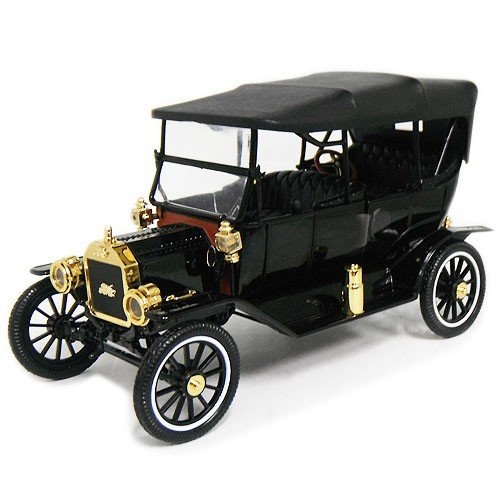 1915 FORD MODEL T CONVERTIBLE WITH TOP UP 1/18 MOTOR CITY CLASSICS 9167円