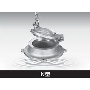 ため池 貯水池 調整池 用 青銅製 ため池栓 N型 N-150 1個