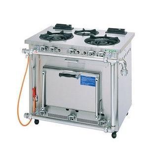 業務用ガステーブル コンロ タニコー 3口ガスレンジ S-TGR-90 都市ガス 900×600×800 保証付