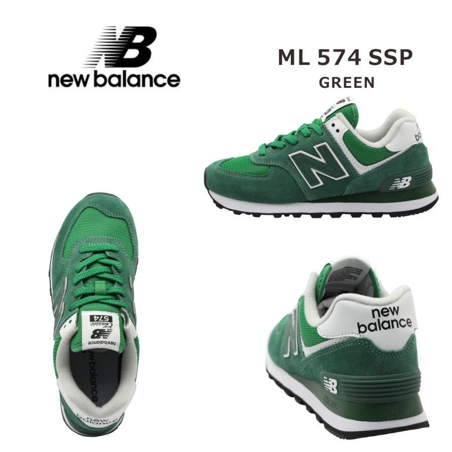 new balance ニューバランス レディース スニーカー ML574SSP グリーン|mickey-shoes|02