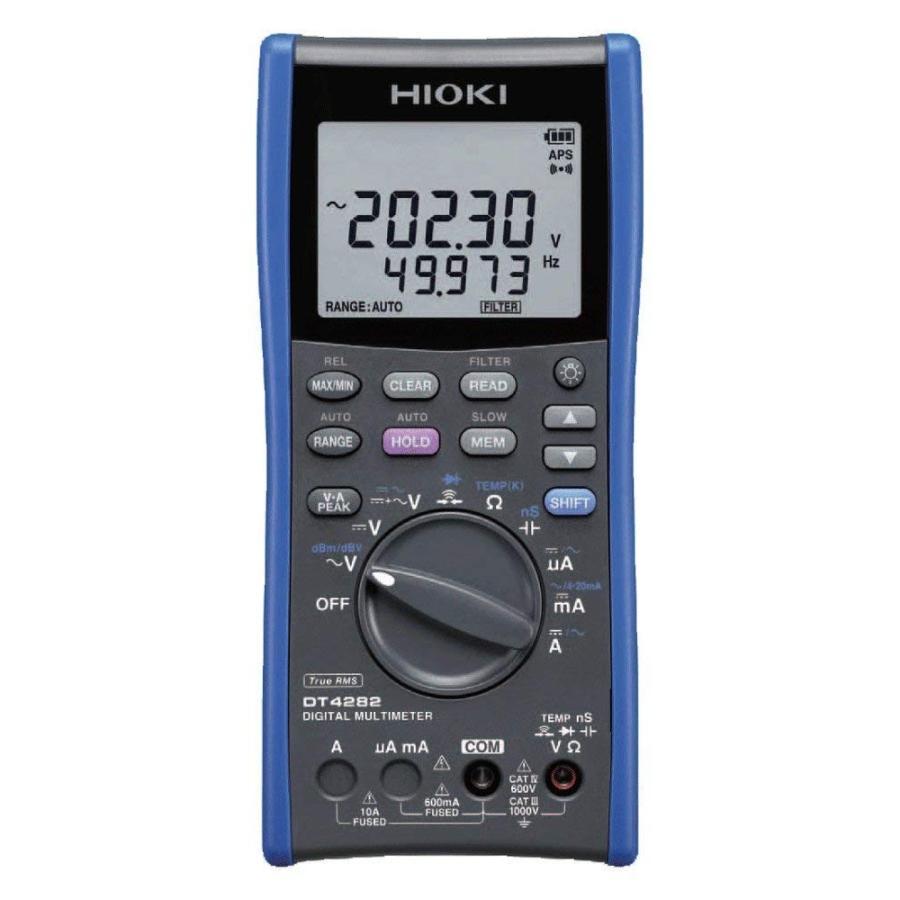 HIOKI(日置電機) DT4282 デジタルマルチメータ(10A端子搭載タイプ)