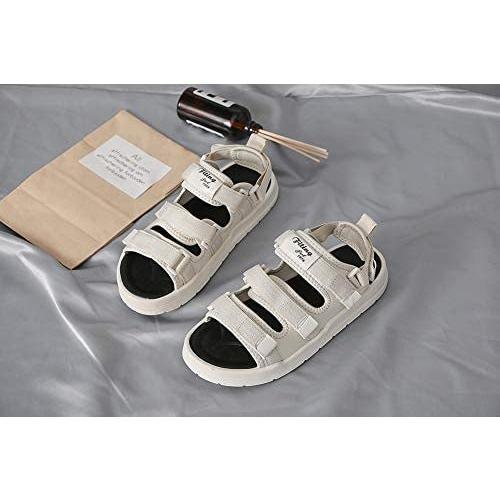 [TIOSEBON] サンダル レディース スポーツサンダル ビーチサンダル 厚底 スポサン 歩きやすい サンダル (ホワイト 24.5 cm)|micomo|02