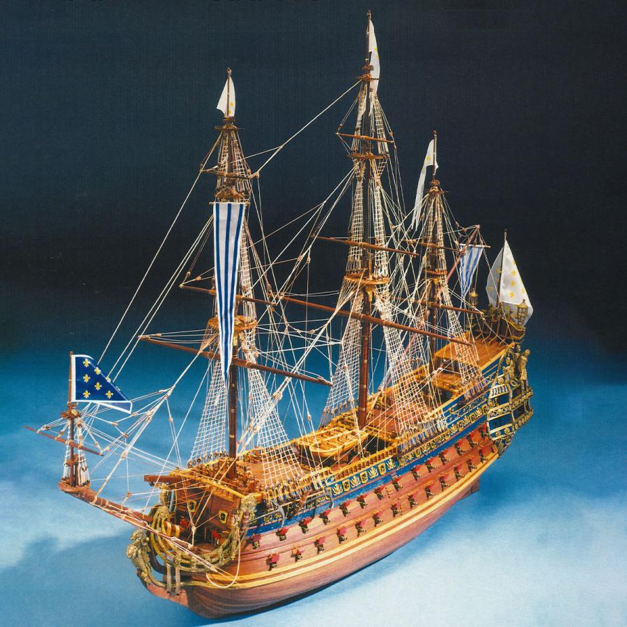 帆船模型キット ソレイユ ロイヤル