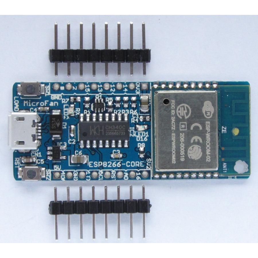 ESP8266-CORE-R1 (ESP-WROOM-02 開発ボード)|microfan