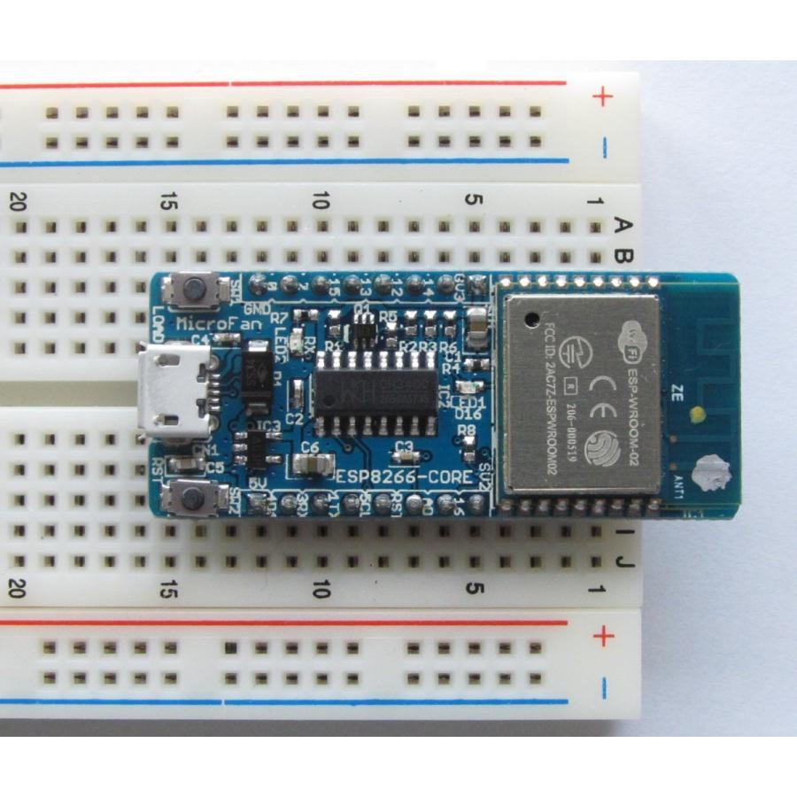 ESP8266-CORE-R1 (ESP-WROOM-02 開発ボード)|microfan|04