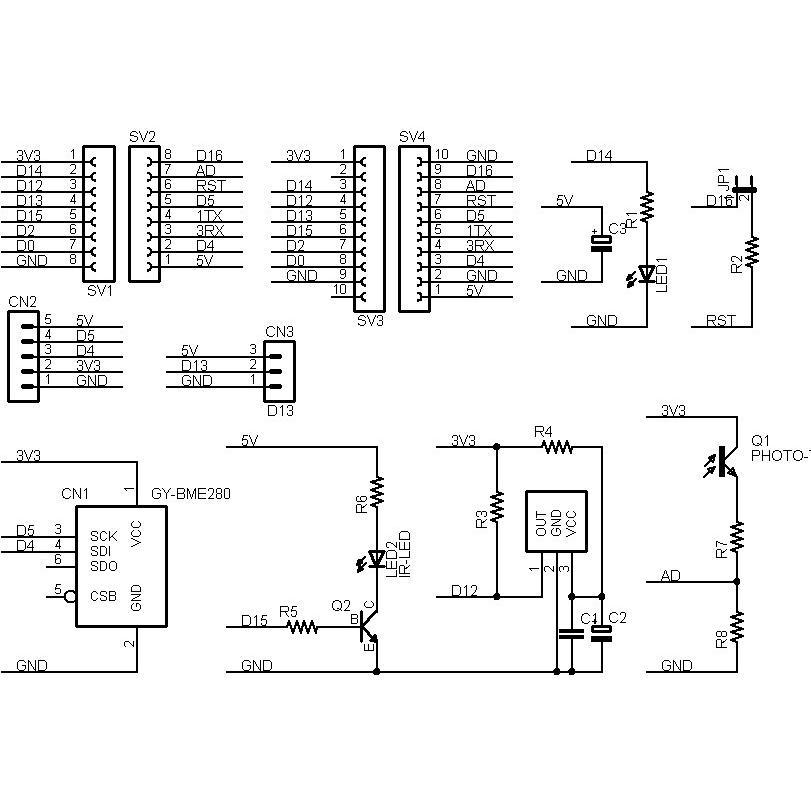 ESP8266-IR-BIT 赤外線リモコン拡張ボードキット|microfan|06