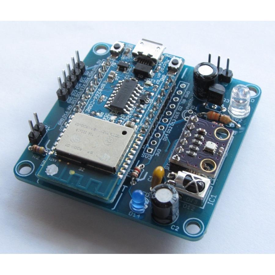 ESP8266-IR-BIT 赤外線リモコン拡張ボードキット|microfan|04