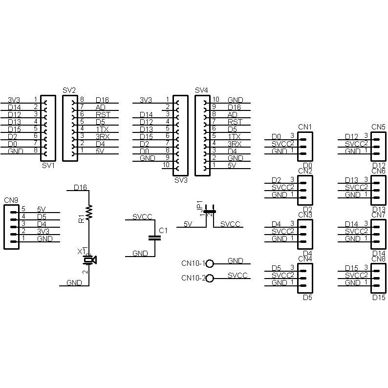 ESP8266-SERVO-BIT RCサーボ拡張ボードキット|microfan|07