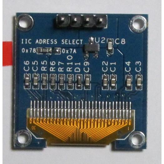 OLEDディスプレイモジュール0.96インチ128X64ピクセル-I2C-青 microfan 02