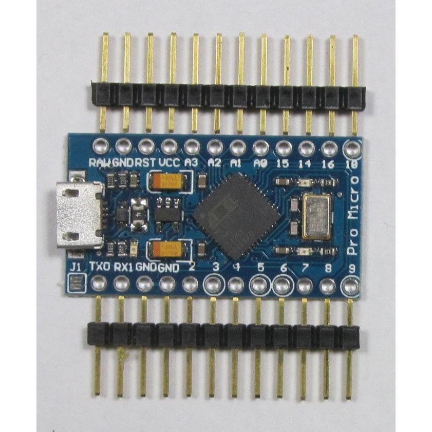Pro Micro/Arduino Leonardo 準拠ボード microfan