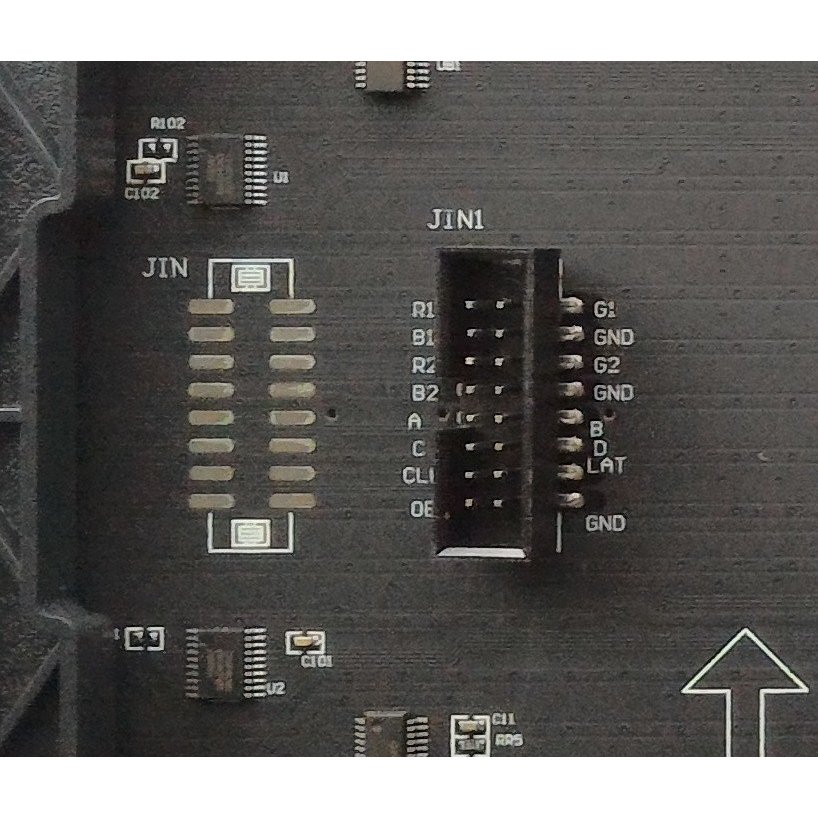 P5 RGB LEDマトリックスパネル(WERALED) 64X32ピクセル 320mmx160mm 室内用|microfan|04