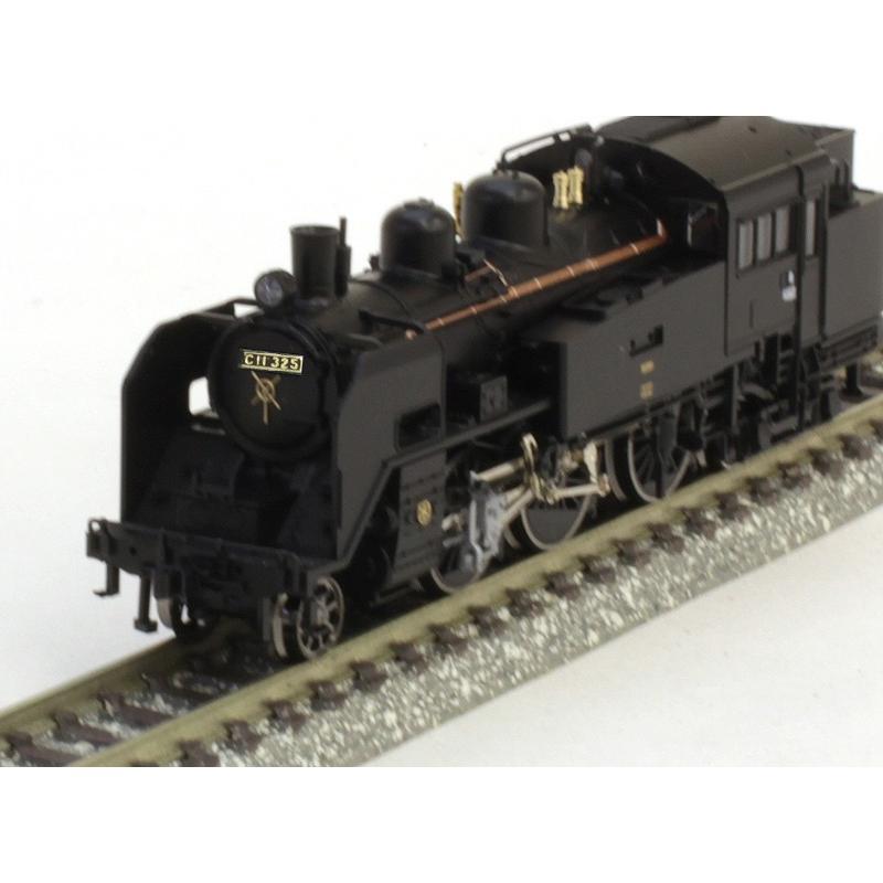 真岡鐵道C11形蒸気機関車(325号機) 【TOMIX・2643】