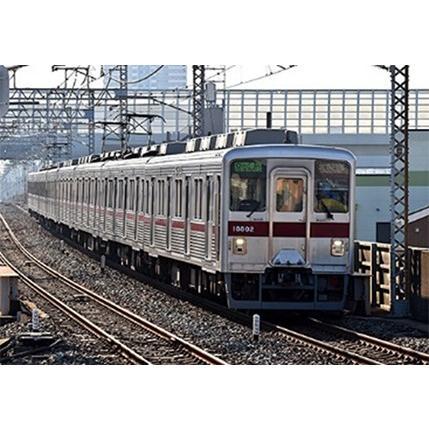 東武10000型リニューアル車(東武スカイツリーライン・11802編成)8両(動力付)【グリーンマックス・30711】